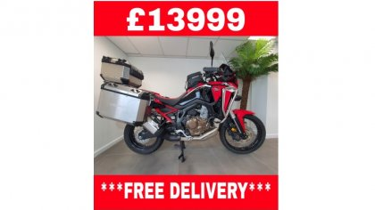 CRF1100 Africa Twin Plus Red Limited Stock