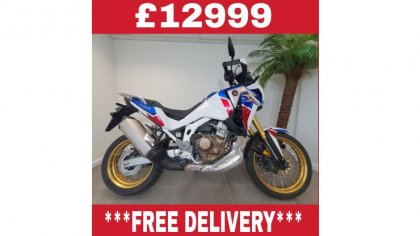 CRF1100 Africa Twin Adventure Sport White Limited Stock