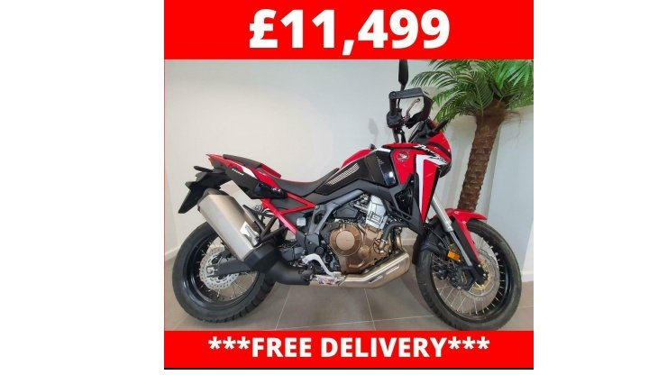 CRF1100 Africa Twin Red Limited Stock